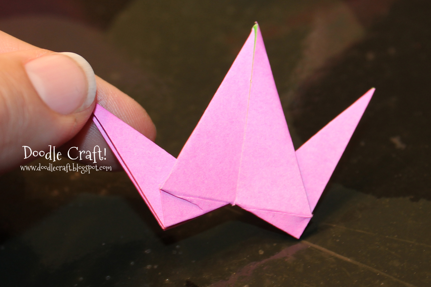 Origami Crane Step By Step Pictures