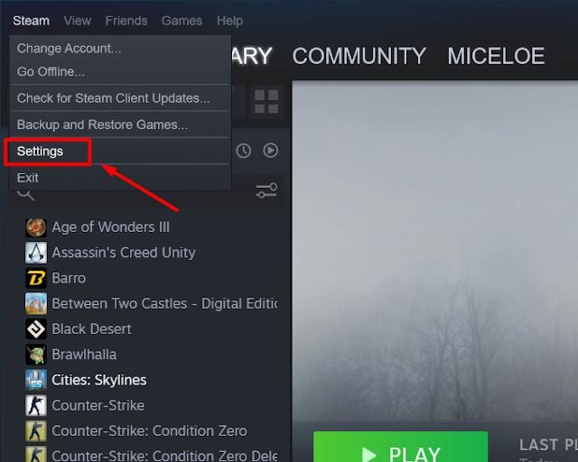Cara Menampilkan FPS di Game Steam