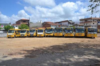 Nova administração de Lagoa Seca age rápido e consegue reestruturar parte dos veículos do transporte escolar