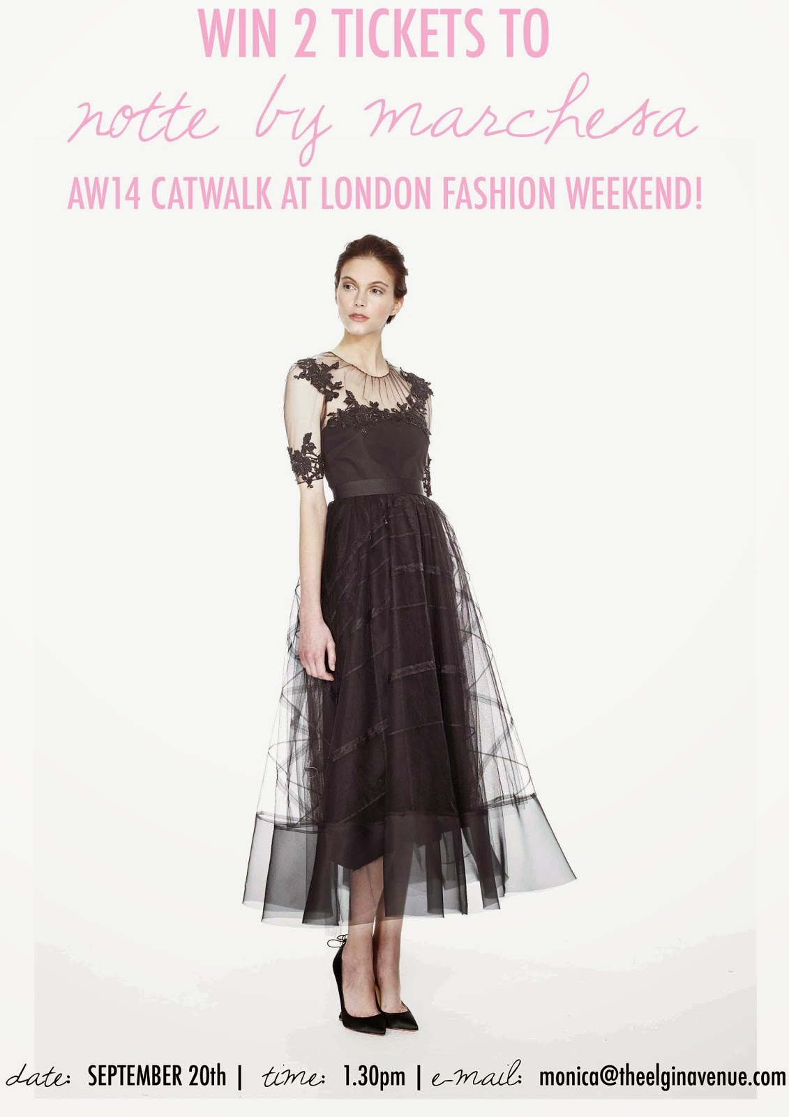 WIN 2 Tickets To Notte By Marchesa At LFWE