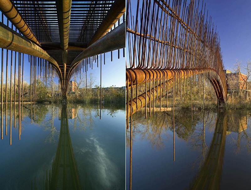 Wild Guest House With Stunning Pedestrian Bridge Are