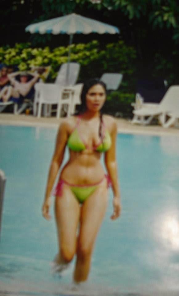 Anarkali in bikini