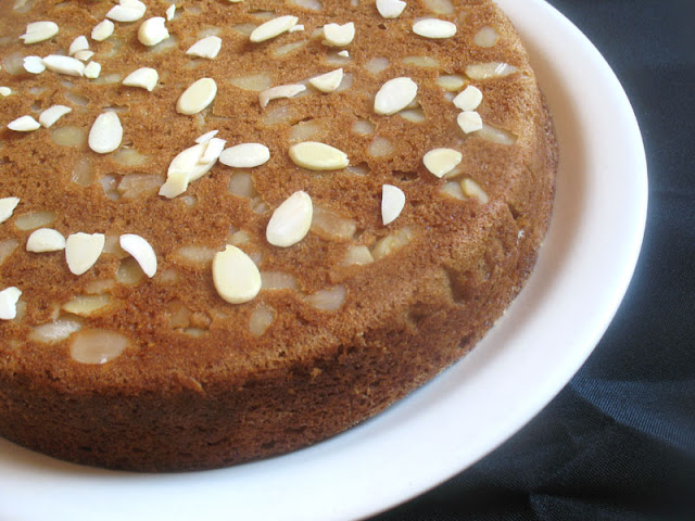Olive Oil Almond Cake