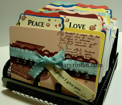 rolodex, inspiration quotes, scripture keeper
