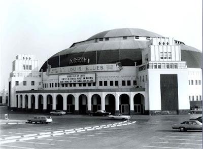 St. Louis Arena photo circa 1970's