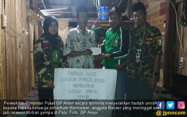 Anggota Banser Tewas Jadi Relawan Gempa, Keluarga Diumrahkan