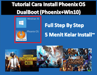 Tutorial Cara Install Phoenix OS di Windows