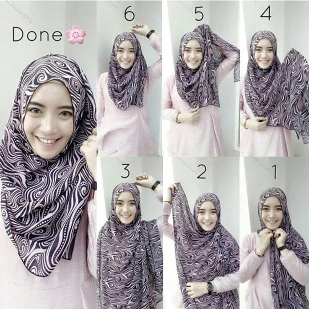 Tutorial Hijab Modern Remaja Tutorial Hijab Modern ...