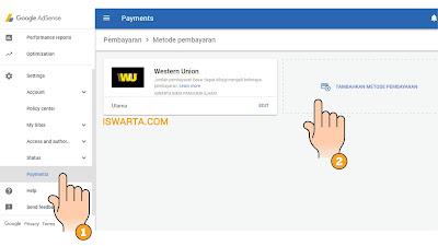 Cara Mengubah Pembayaran Adsense Ke Transfer Bank (WIRE)