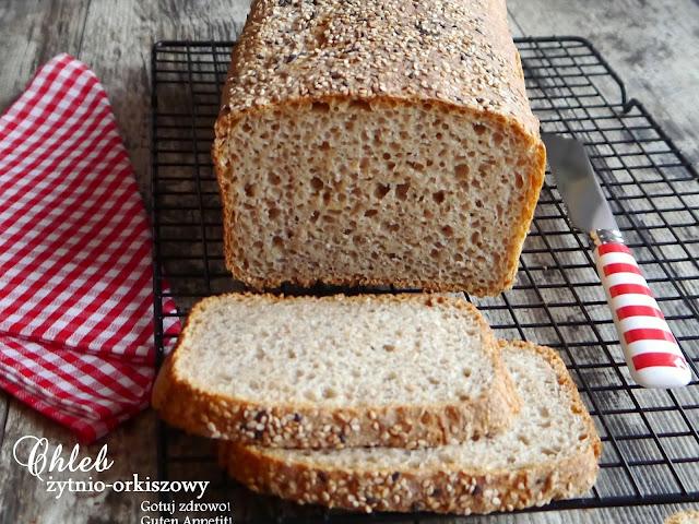 Chleb żytnio-orkiszowy,ulubiony i zdrowy gluten - Czytaj więcej »