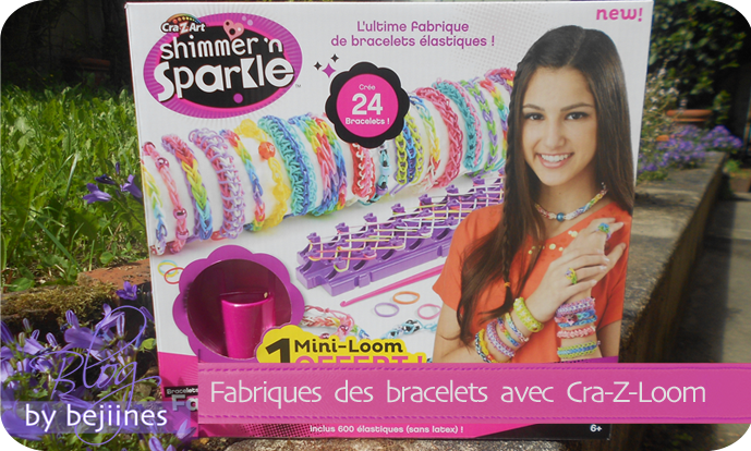 Cra-Z-loom la fabrique à bracelets