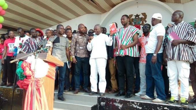 No peace in Ghana until I'm President – Mahama