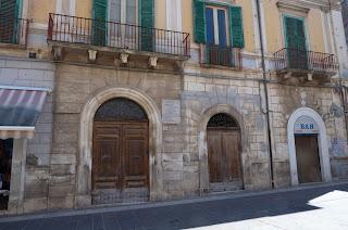 D'Ascanio's house in Popoli