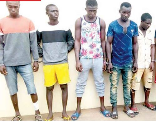Five Young Men Jailed 150 Years For Robbery