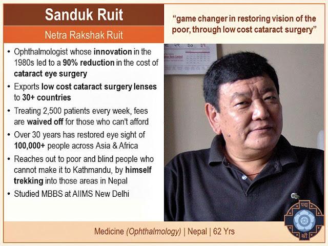 Award Dr Ruit