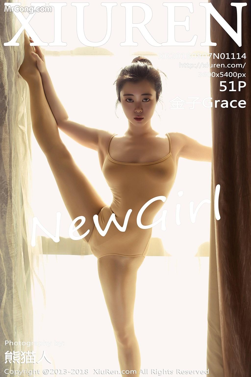 XIUREN No.1114: Người mẫu 金子Grace (52 ảnh)
