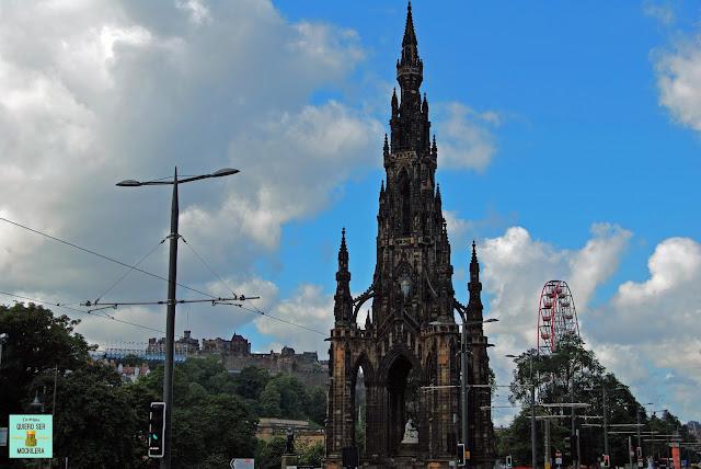 Scott Monument, Edimburgo