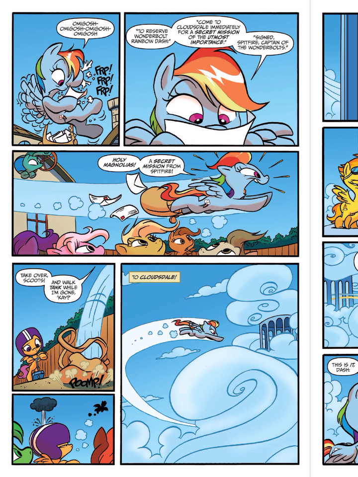 Equestria Daily - MLP Stuff!: Larger Version of Spitfire ...