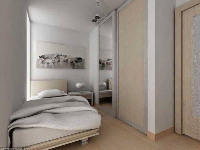 Kamar tidur ukuran 3x3