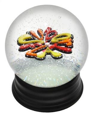 Superflat snow globe