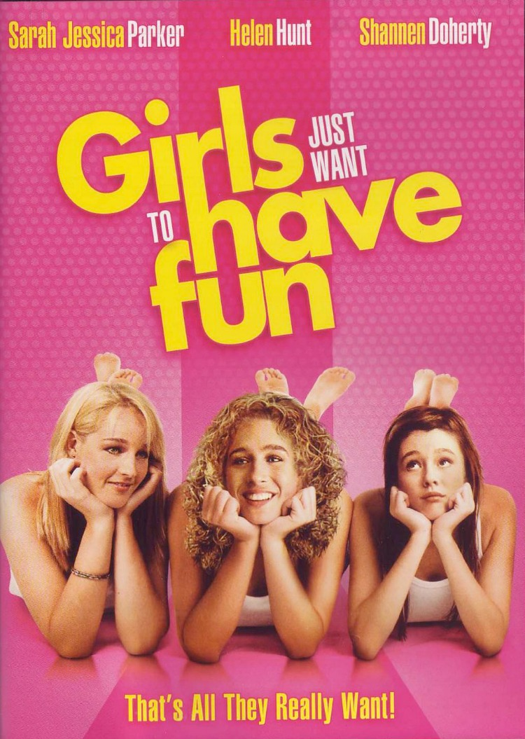 A Vintage Nerd, Classic Film Blog, Old Hollywood Blog, 1980s Movies,  Girls Just Want to have fun