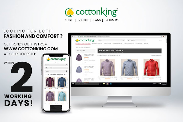Variety, comfort, quality at best prices only at CottonKing