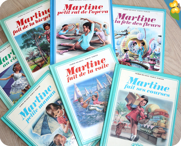 Collection livres Martine vintage - casterman