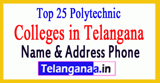 Top 25 Polytechnic Colleges in OU Region of Telangana State