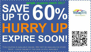 Vistaprint coupons march 2017