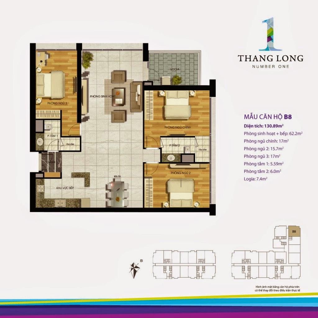 Căn B8- 130,89 m2