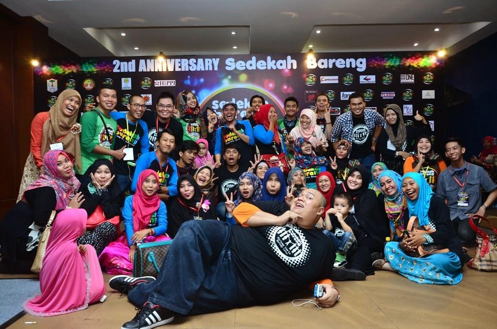 All Crew 2nd Anniversary Sedekah Bareng