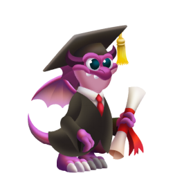 Appearance of Graduation Dragon when teenager