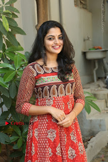 Telugu Actress Nikhila Vimal Latest Stills in Anarkali Dress  0163.JPG