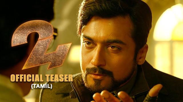 Suriya's 24 official Tamil Teaser