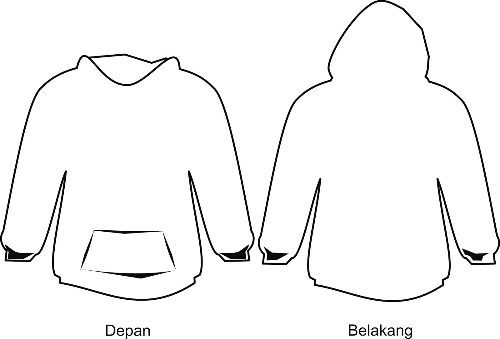 Harankablog Download Desain Kaos Dan Jaket Polos Corel Draw