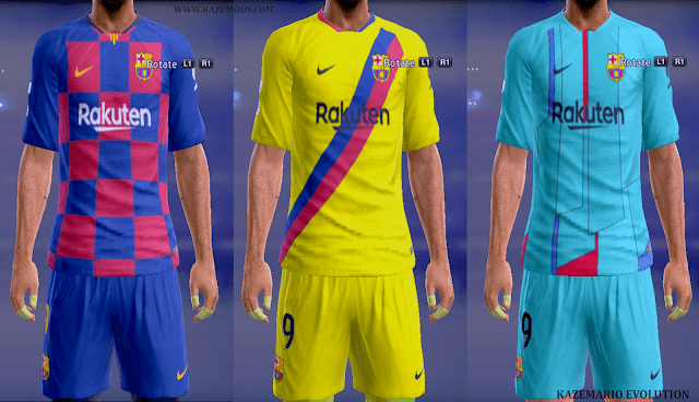 competitive price 9caac 715a5 PES 2013 FC Barcelona Kits 2019/20