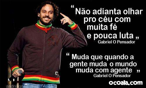 Frases Do Coringa Pensador Para Facebook: Sentimentos Amor & Poesias ♥♥: FRASE DE GABRIEL PENSADOR