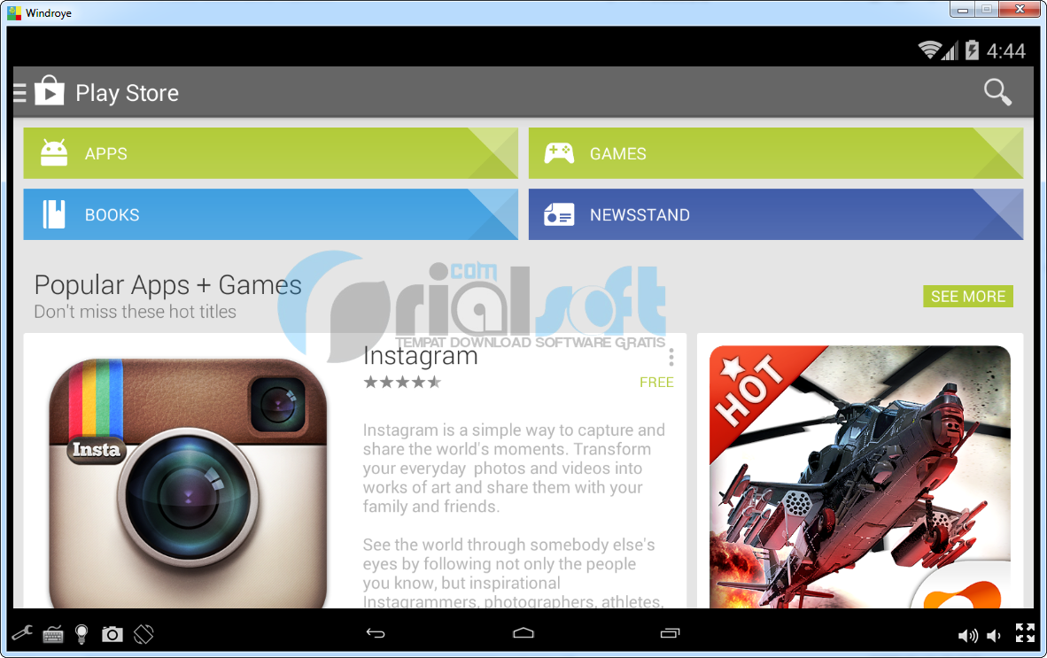 Android game software for pc