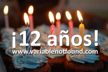 12 años!!
