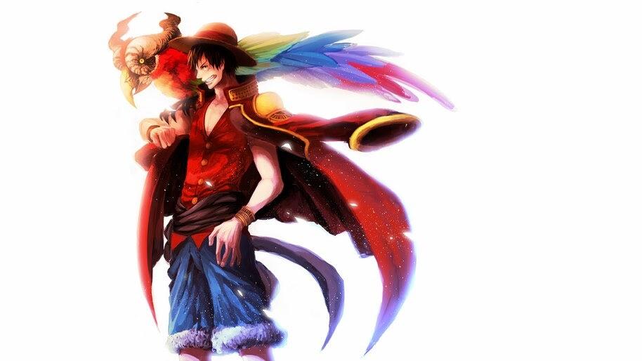 Luffy, Pirate King, One Piece, 4K, #6.114