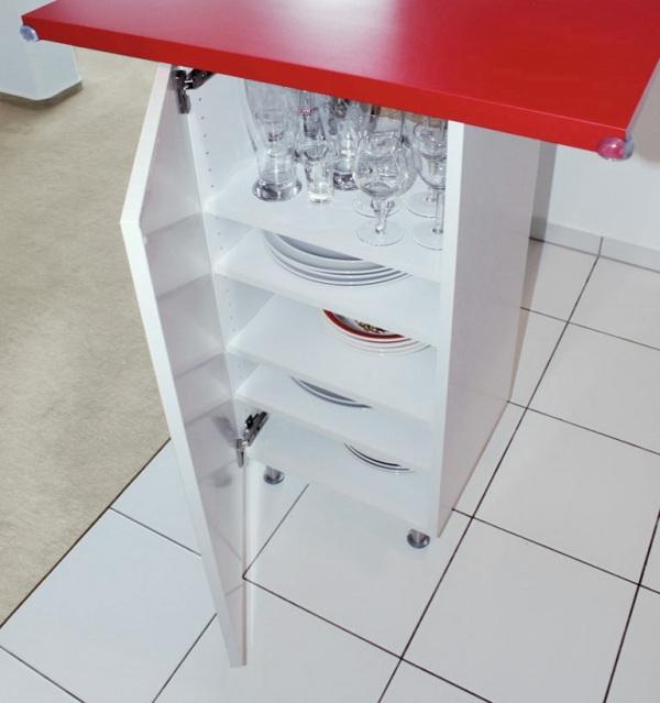 Wall Cabinet Push Drawer Kitchen