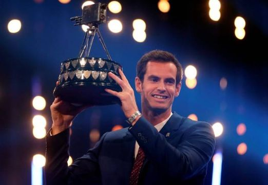 Andy Murray wins BBC Sports Personality of the Year for the 3rd time
