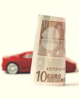 bani pe masina