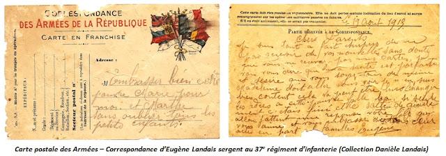 LUDRES (54) - Quand le 37e RI cantonnait au village (Juillet-Août 1915)