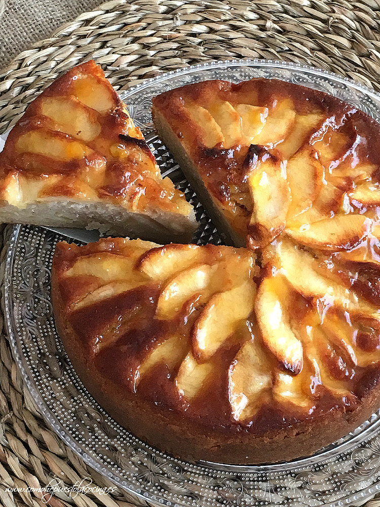 receta-pastel-de-manzana-facil
