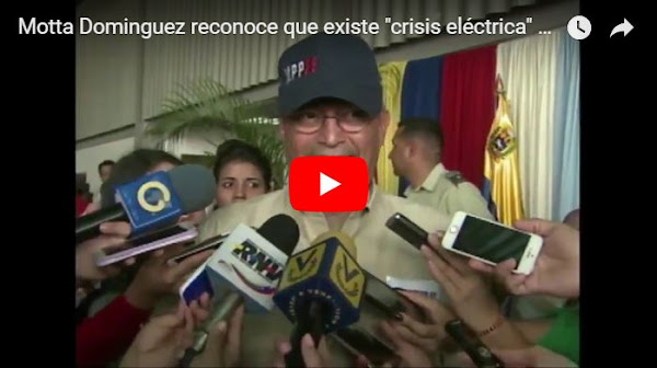 Ministro de Energía asegura que no tiene idea de cuánto durarán los apagones en el Zulia
