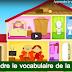 تعلم مفردات المنزل باللغة الفرنسية - Apprendre le vocabulaire de la maison