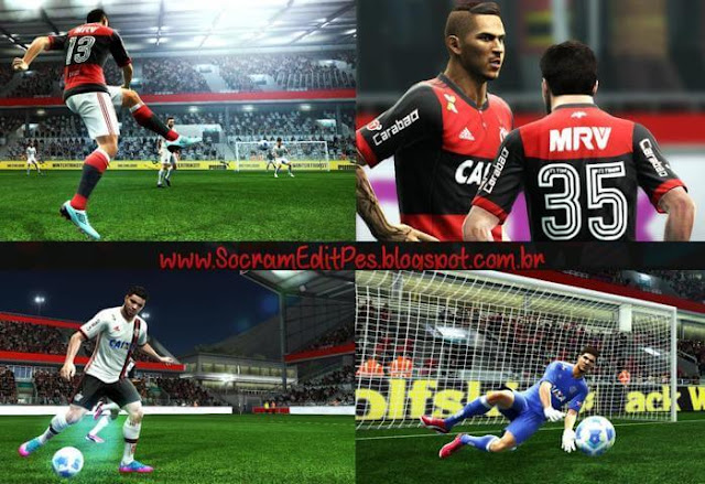 CR Flamengo 2017-18 Kit PES 2013