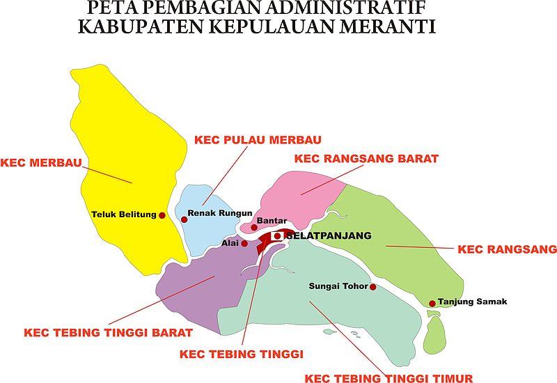 Letak Geografis ~ Bupati Kab. Kepulauan Meranti
