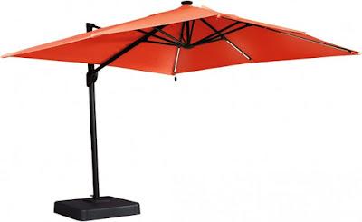 performance fabric outdoor umbrella